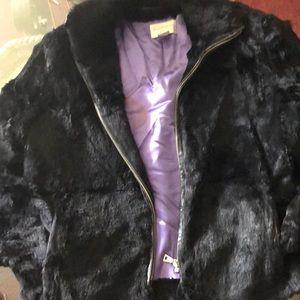 Fur Hugo Buscati coat real fur  Victoria secrets